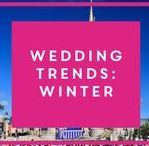 Wedding trends: Winter 2015 / Trying to pick the perfect theme for your wedding? We've got you covered...