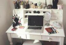 Organisation Waw / Plein d'idée pour s'organiser chez soi, rangement maquillage, cuisine, matériel...