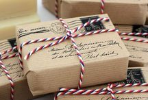 Pretty Packages / Inspiring ideas for wrapping your packages!