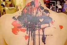 "° abstract tattoo community / water color style, ink splashes, surreal illusions... - so pin all kind of tattoos, that are not ""classic"" / regular!"