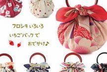 origami con stoffa  furoshiki