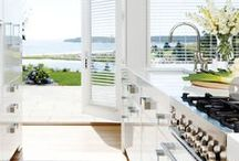 Dream Kitchens / Beautiful kitchens to cook healthy seafood meals in