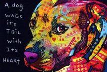 Dog Art Собака Искусство
