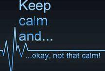 Keep Calm Сохраняйте спокойствие