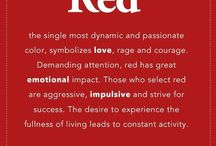 RED / The single most dynamic and passionate color...RED