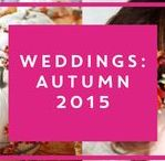 Wedding trends: Autumn 2015