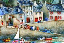 Bretagna   di Bernard Morinay e umorismo bretone...