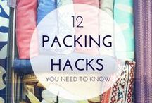 Pack Like a Pro / Tips and ideas to help you pack like a pro - whether it is for an overnight trip or a multi-month travel extravaganza