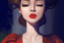 Illustrations Femmes
