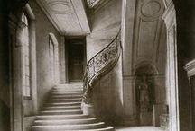 old architecture/interiors