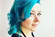 Creative Color Transformations / Creative and fantasy hair colors...let Jeanise, Steve, or Sarah transform you!