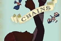 5.3 Chains / Genre: Historical Fiction. For teachers who are planning unit 5.3 based on the novel Chains, written by Laurie Halse Anderson. This board includes information about the text, information about the author of the novel, and recommended text pairings for use in small groups.