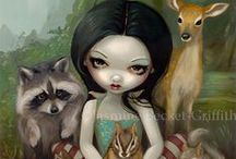 Jasmine Becket-Griffith / by SUE L.