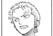 Roronoa Zoro / Zoro expressions from One Piece manga