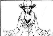 Nico Robin / one of the mugiwara's