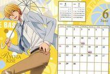Kuroko no Basuke Calendar / 2014 calendar