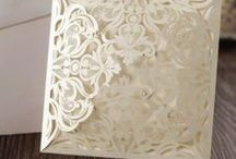 Laser Cut Wedding Invitations / Stunning top quality wedding invitations to be self personalised, great for weddings, engagements etc. Easy templates to use in microsoft word. Design your perfect invitation for your perfect day.  Email sales@syntego.co.uk for the template