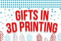 Gifts in 3D printing / Take the 3D Printing plunge with our top picks for 3D Printing Gifts. Start with a basic kit model or make a family gift of a printer and scanner. Need a gift for a Master Maker? A CNC milling package with upgrade capacity will score you favorite relative status, guaranteed.
