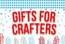 Gifts for Crafters / If you own anything crocheted, reupholstered, or made from upcycled wine corks - you probably have a crafter in your life. Knock the bedazzled socks off of your favorite glue-gun guru with EL-Wire or an Egg-Bot - then prepare for a delightful handmade thank you card (likely in calligraphy.)