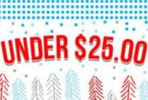 Under $25 / Looking for a little DIY cheer? Our Gifts Under $25 Guide is packed with ways to say 'thanks' - all less than a week's worth of fancy coffee! Stock up on our Maker-approved Gifts Under $25 for a season of inspired giving - nobody will miss the fruitcake... we promise.