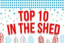 Top 10 in the Shed / Every year, you ask us: What are the best gift ideas this year? What were the hottest items at the year's Maker Faires? What do we plan on giving to our friends and families?   Our Top 10 in the Shed answers this question. Each suggestion is Maker-Faire tested and approved, is a category best-seller, and is aimed at the resourceful beginner. We also like these items because they encourage fundamentals - all can be used and reused. Now that is inspired making!