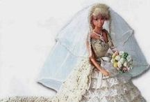 Vestidos Barbie Ganchillo