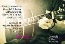 ONE LIFE / Book two in my Only You series releasing 10-20-15!