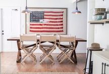 Patriotic Decor for the Home