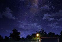 夜空  宇宙  銀河系