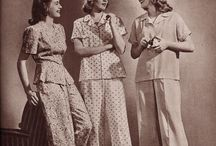 Cats Pyjamas / Who said pyjama-hour couldn't be just as stylish as the rest of your day?! / by StyleGene Vintage