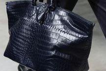 """Man Bags / """"It's not a purse.  It's European.""""  -- Seinfeld / by Roger Woods II"""
