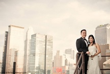 Lui Min's Wedding at Mandarin Oriental New York / The wedding we designed at the Mandarin Oriental New York last year....