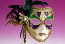 Mardi Gras Retail Products & Party Supplies; French Quarter, Bourbon Street, Jazz, Cajun / Event & Party Supplies; Pin Retail products for sale or rent as well as ideas and decor; Fleur de Lis, Bourbon Street, French Quarter, Cajun, jester, harlequin pattern, balloons, centerpieces, beads, props, garlands, backdrops, streamers, History of Jazz, French Quarter & Origin of Mardi Gras, Streads (street beads) King Cake Recipes, Pictures & Videos of Mardi Gras ( please only copyright-free body painting clips)