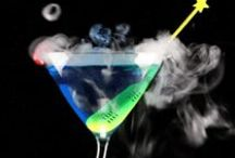 Alcohol; Special Party Drinks, Holiday Drinks, Hot Drinks, Nog, / Party & Event Supply;  Alcohol & Non-Alcohol Drinks for Special Occasions.  Pinners please pin for current or upcoming holiday only!!!  We don't recommend flaming drinks  or putting dry ice directly into drinks or punches it can be a burning or choking hazard; try these dry ice swizzle sticks at http://mistystix.com/   Pin for christmas, newyears, st. patricks day, valentines, easter, cinco de mayo, fourth of July, halloween, thanksgiving; etc    This board is for persons age 21 and older.