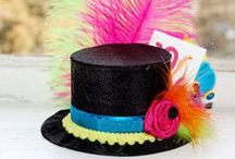 Mad Hatter / Alice in Wonderland Party Decorations, Ideas & Games / Party & Event Supply; Businesses please pin just a few products for this theme at a time, until this board picks up!  Please pin Products, Ideas & Tutorials for Alice in Wonderland Decor.