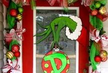 "The Grinch; Grinch Parties; Red, Green & White Holiday Themed Treats / Party & Supply; Everything Grinch; Grinch Party Ideas, Decor & Products...Red, Green & White Holiday Treats... Red Green & White Holiday ""Decor... Red, Green & White DIY Holiday Crafts.  Stick with the Red Green White and Grinch theme or the pins will be removed."