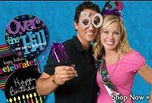Over The Hill Birthday Party, 30th, 40th, 50th, 60th, 70th, 80th, 100th, Retail Products & Supplies / Party & Event Supply; Over The Hill Birthday Party, 30th, 40th, 50th, 60th, 70th, 80th, 100th, Retail Products & Supplies; Centerpieces, Balloons, Decorations, Garlands, Streamers, Confetti, Party Napkins, Plates; etc.