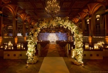 Annie & Chung's Splendid Wedding Night at the Plaza Hotel / These are the preview photos from Annie and Chung's wedding at the Plaza Hotel on the last week of last December. Annie told us she dreamed of her wedding night to be in the classic and romantic wedding night with the rusty gold color decoration, a lot of crystal hangings and plenty of candlelight. We transformed the Plaza Hotel to make her dream come true. We have to say Annie was stunningly gorgeous that night. Thank you Arnold Brower from Bentley Meeker for these beautiful photos.