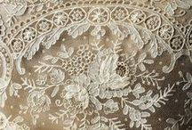Luxe:Lace / Beautiful lace designs and details / by StyleGene Vintage