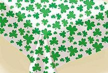 St. Patrick's Retail Products, Party Supplies, Ideas & Decor, Garlands, Wreaths, Etsy Crafts / Party & Event Retail Supply; St. Patrick's Day Ideas & Retail Party Products & Supplies, Leprechauns, Shamrocks, Garlands, Streamers, Baking Pans, Cookie Cutters, Themed Table cover, Themed Tablecloth, Themed Linen, Shamrocks, Wreaths, Balloons, Shamrock Confetti, Pot Gold, Costumes, Centerpieces, Decorating Kits, Green Beer, Party Themes.