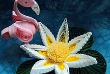 """3-D Quilling Projects / by Party & Event Supplies / All Retail... We have Product Boards for """"All"""" Retail Businesses; follow us for an Invite to pin!"""