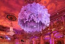 """The Floral Decor at The Great Gatsby Movie Premiere at the Plaza Hotel by Tantawan Bloom / It's our privilege to work with Samatha Sackler Productions who always creates impeccably fabulous events. Thank you very much for trusting us to collaborate with your team to create the floral design of your vision. Thank you also to the Plaza CPS Events for the professionalism that we always receive from you. Thank you Bentley Meeker for your superb lighting as always. Special """"thanks"""" to Arnold Bower and Line 8 Photography for the beautiful photo."""