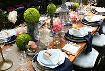 Dinner Party Decor / Whether on a yacht, at a pool, at the beach, or a social gathering- Beach Glam should be your apparel of choice. These parties definitely represent the glam lifestyle! www.beachglam.com