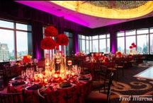 Red Hot & Romantic Wedding at Mandarin Oriental Hotel  / We just received the photo from Fred Marcus for the wedding that we designed in June at Mandarin Oriental Hotel. The wedding night theme was a red hot and romantic modern floral design to fulfill our bride's dream of her most special night.   Vendor lists:  Venue: Mandarin Oriental Hotel New York Linen and Furniture: Nuage Designs Furniture: Luxe Event Rentals Photographer: Fred Marcus