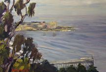RLO Art / Plein air and studio Paintings by San Diego artist, Ronald Lee Oliver