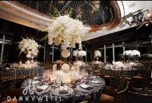 Jaimme and Evan's Wedding at Mandarin Oriental / It's all about orchids in this romantic design