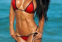 Beach Body/ Fit Females / Women that are athletic, fit, toned, and healthy with bodies ready for the beach. The perfect body to rock your favorite beach glam.  www.beach-glam.com