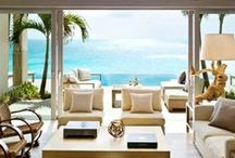 Luxury Beach Home Decor / Home decor for your vacation home, beach living, or just creating a theme for a room in your home. Get decoration, color, or visual inspiration from our beach house decor top picks! Have beach glam even at home.  www.beachglam.com