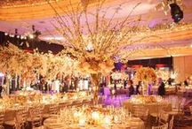 """Sara and Matt's Spectacular Wedding at Mandarin Oriental Hotel NY / We just received these beautiful wedding photos of Sara and Matt at Mandarin Oriental Hotel New York that Tantawan Bloom designed last year. Special """"thank"""" to Ira Lippke Studios for such amazing photos! Enjoy!"""