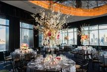 Catherine & David's Wedding Night at Mandarin Oriental Hotel / We just receive Catherine and David's wedding photos. It's absolutely romantic night at Mandarin Oriental Hotel New York. Thank you Brian Hatton for these beautiful photos!